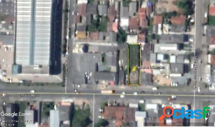Terreno comercial - rua josé hauer - próximo a salgado filho