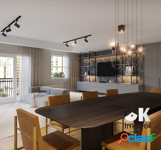 Apartamento reformado: 112m², 3 quartos e 1 vaga – jardins