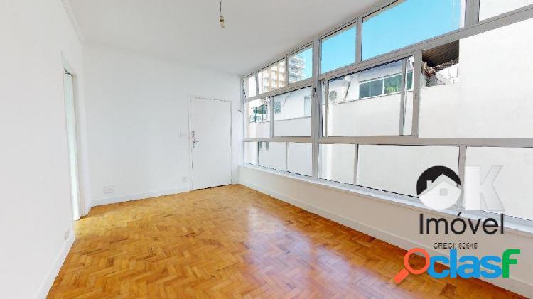 Rua baronesa de itu: 78m², 2 quartos e 1 vaga – higienópolis