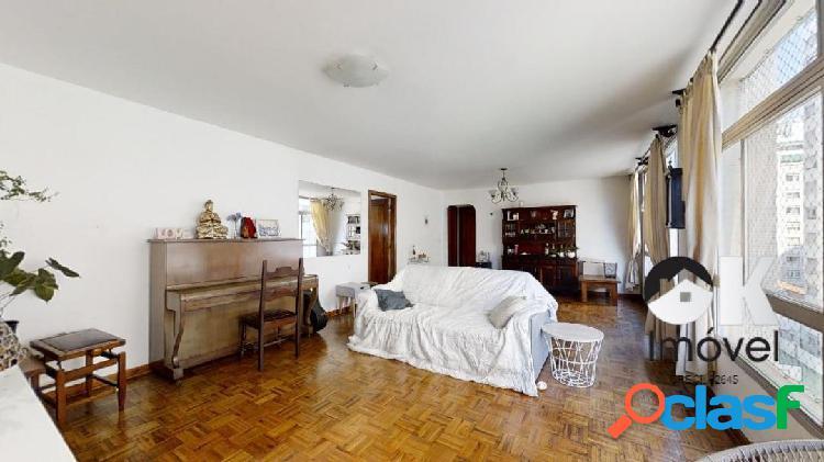Rua maranhão: 133m², 4 quartos e 2 vagas – higienópolis