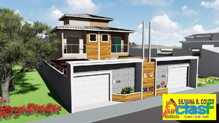 Casa duplex- vista mar itaipuaçu- 3 qts(2 suítes) - r$ 450 mil