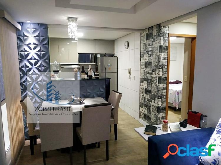 Ap574 - apartamento à venda, americana, jardim terramérica iii, 42m², 2 dor