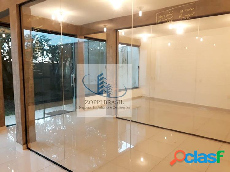 Cal0069 - casa comercial, locação, frezzarim, 300m², 10 salas, 6 banheiros,
