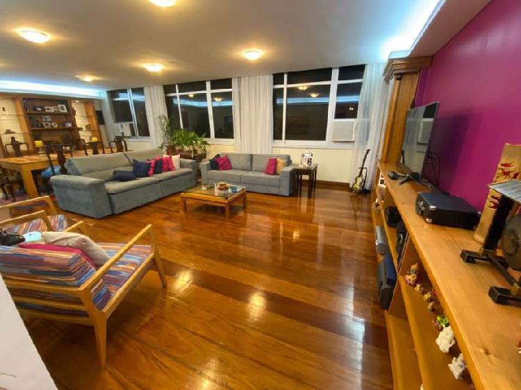 Apartamento 200 ms2 em ipanema - quadra praia!! no coração