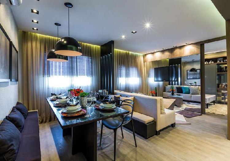 Apartamento pronto para morar, 2 quartos e 1 vaga. divisa