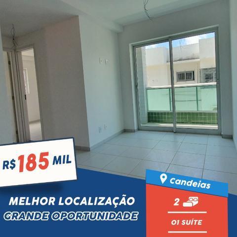 Apartamento com 2 quartos com suíte e varanda