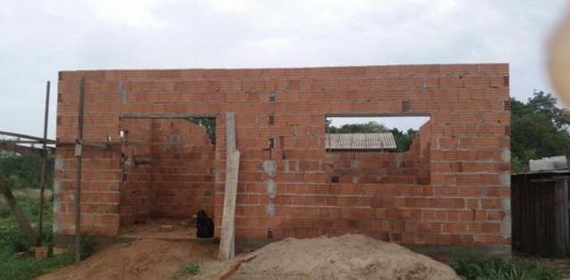 Casa em construção - MGF Imóveis