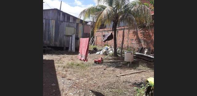 Vendo terreno com casa - mgf imóveis