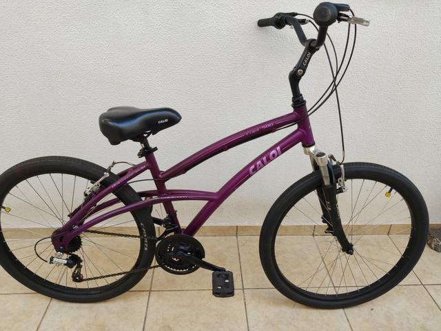 Bicicleta bike caloi alumínio