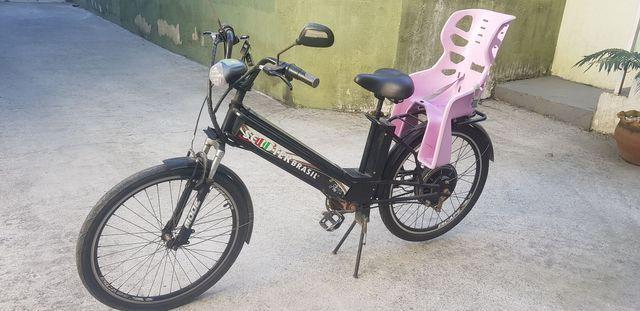 Bicicleta elétrica scooter brasil.