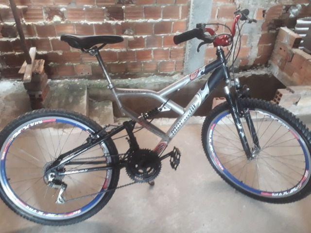 Bicicleta mormaii aro 26 prata