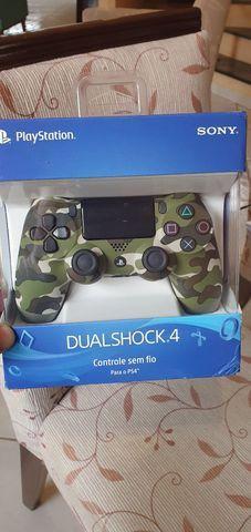 Controle s/ fio dualshock 4