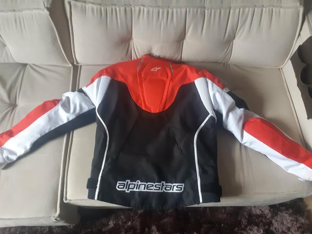 Jaqueta motovelocidade alpinestars tamanho m