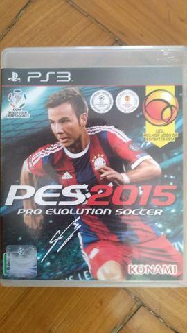 Jogo pes 2015 (português br) - ps3 mídia física