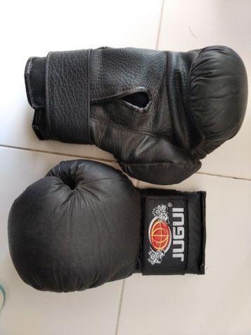Luva e caneleira boxe, muay thai, kickboxe jugui