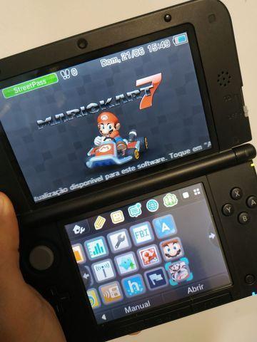 Nintendo 3ds xl desbloqueado - aceito cartão e parcelo