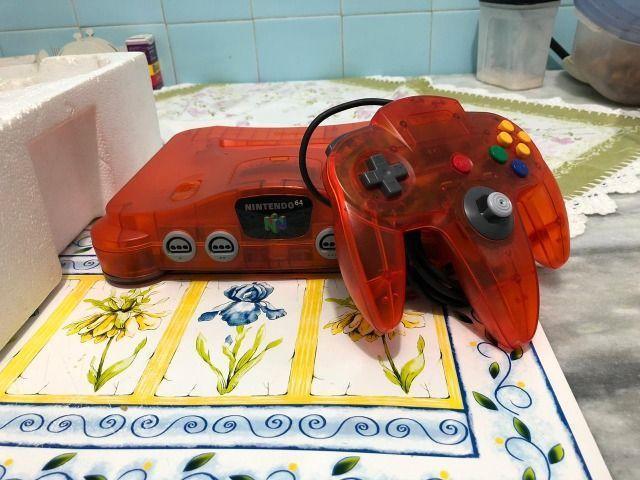 Nintendo64 tangerina