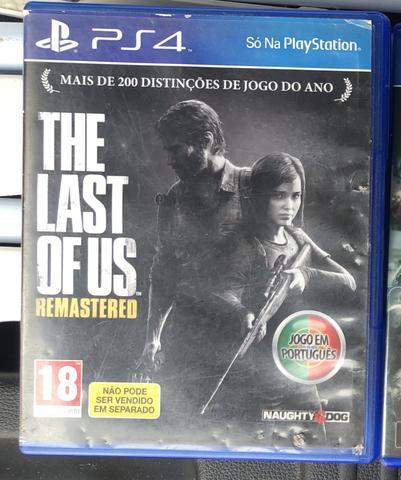 The last of us remastered (em português) ps4