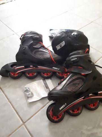 Vendo patins ou troco em bike boa