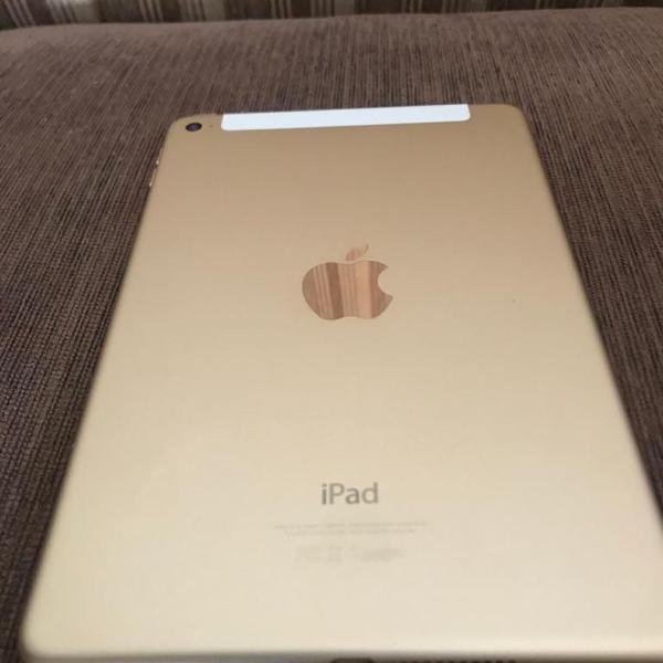 Apple ipad mini 4 modelo a1550 gold dourado 16gb