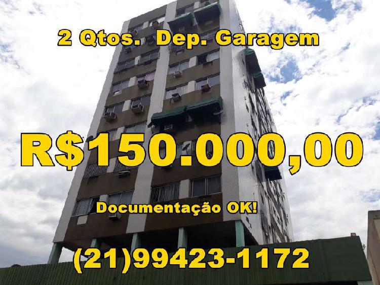Apartamento à venda na praça seca de 2 qtos, dep. de