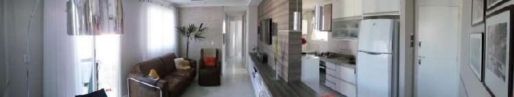 Apartamento de 66 metros quadrados no bairro atuba com 3