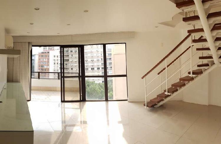 Apartamento tipo cobertura - duplex - para venda com 155 m2