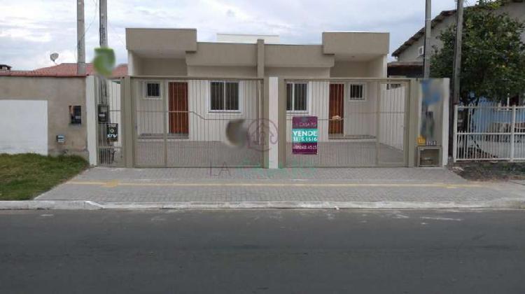 Casa residencial no bairro igara com (02)dois