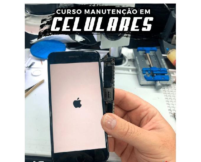 Curso de reparos e manutenção de celulares