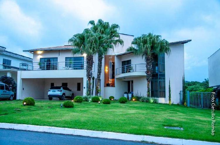 Smpw q 4 - mansão top, moderna, no melhor condomínio.