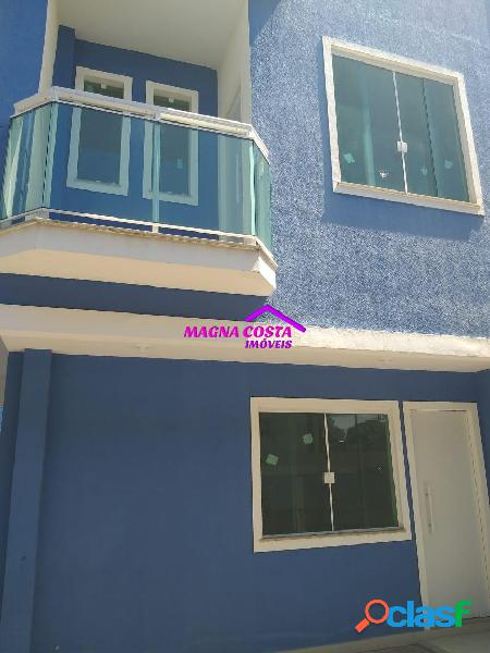 Casa 2 qts - duplex itaguai - 1 locação