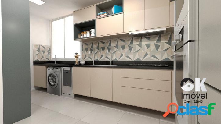 Apartamento reformado: 80m², 2 quartos e 1 vaga – higienópolis