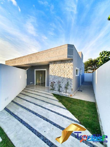 Lançamento!! linda casa linear independente na vila do peró !!!