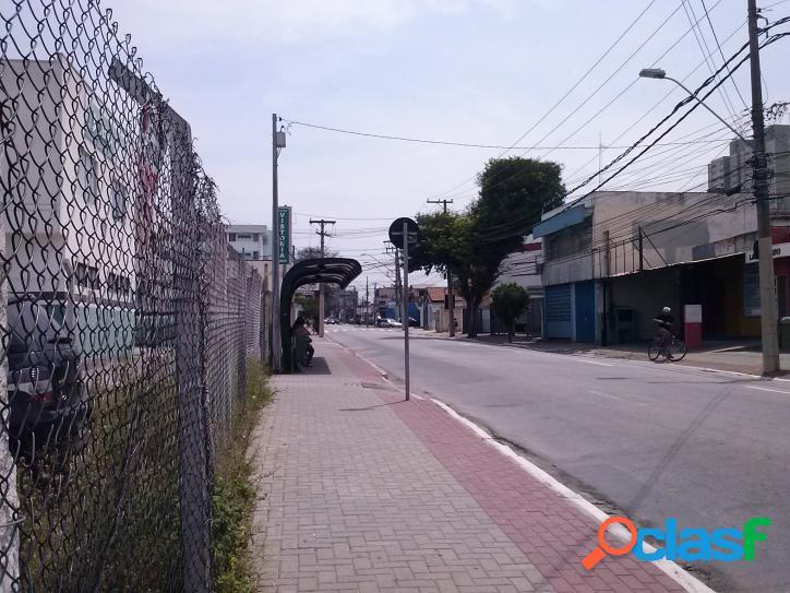 TERRENO 1.900 M² TOTALMENTE PLANO CENTRO DE SJCAMPOS=SP