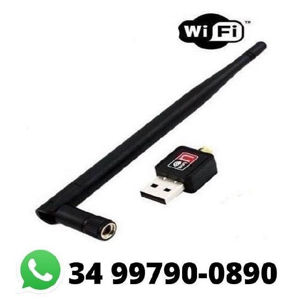 Adaptador wifi usb c/ antena