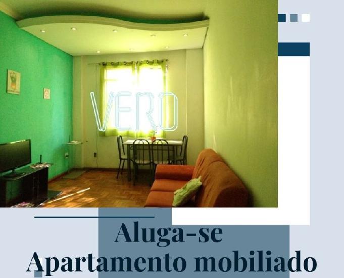 Apartamento mobiliado – aluguel – centro – cód. a163
