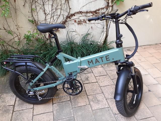 Bike elétrica mate x