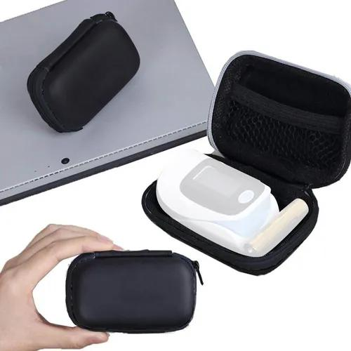 Bolsa de oxímetro de pulso de dedo estojo portátil pacote