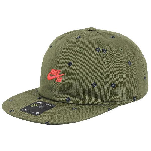 Boné nike sb printed hat medium olive - surf alive