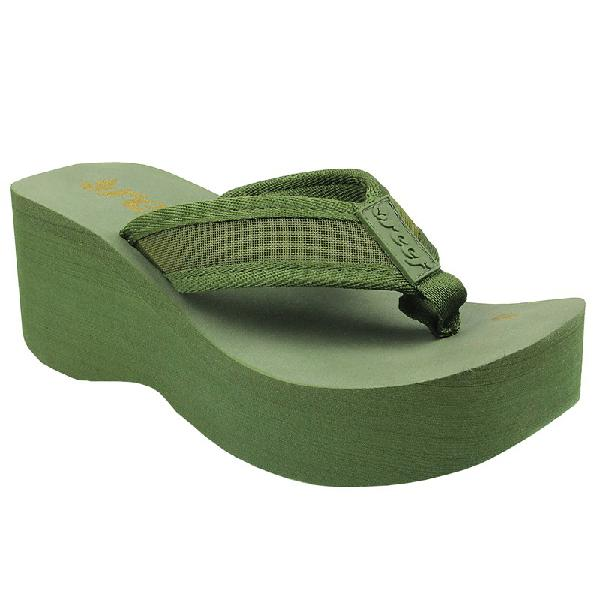 Chinelo reef liv screen feminino olive - surfalive