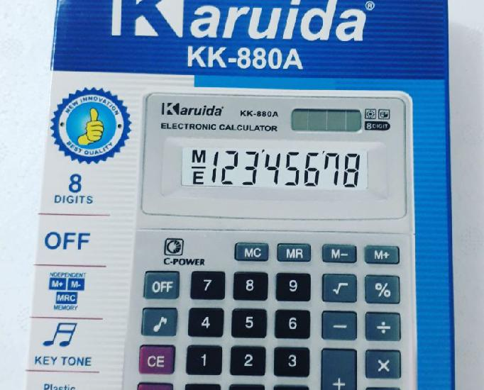 Calculadora karuida 880a-entregamos em domicílio