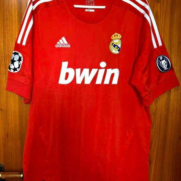 Camisa real madrid away 2012 ed. champions league