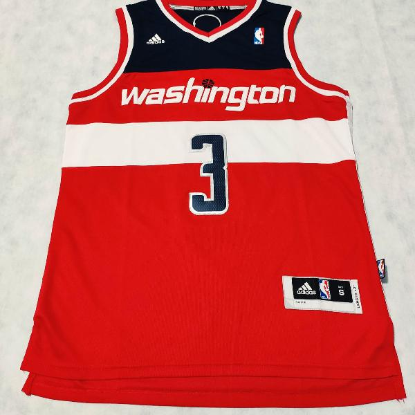 Camisa washington wizards #3 beal (tam s) ótimo estado