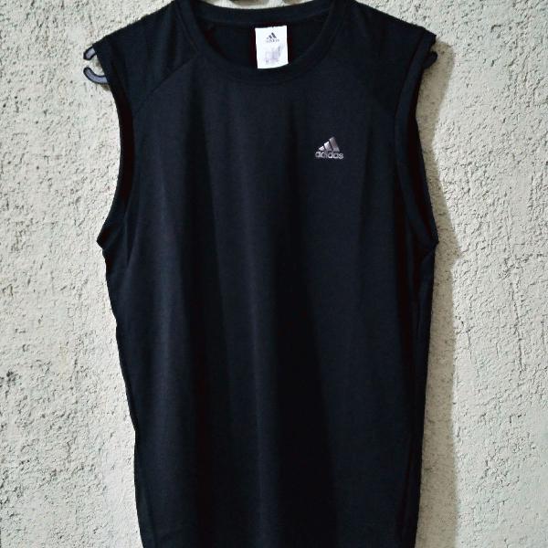 Camiseta regata machão masculino original adidas