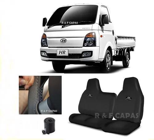 Capa banco couro caminhão hyundai hr 2005 a 2019