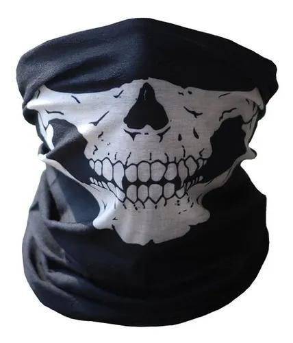Ciclismo skull half face máscara ghost cachecol multi use p