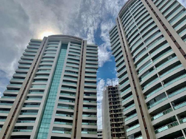 Cobertura duplex de 271 m² no bairro cocó, 3 suítes, 3