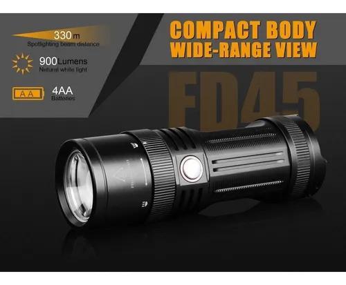 Fenix fd45 - 900 lúmens - lanterna - tática