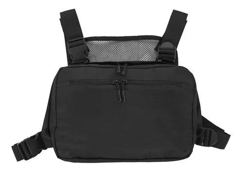 Homens ao ar livre tático peito ajustável rig shoulder bag