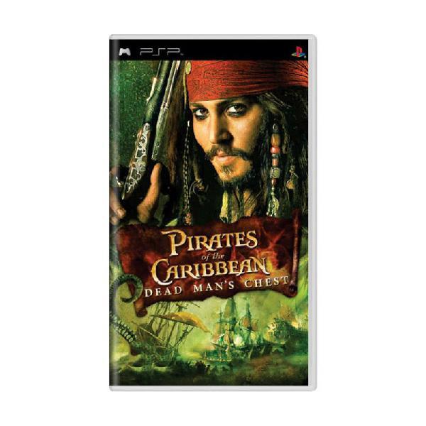 Jogo disney pirates of the caribbean: dead man's chest - psp